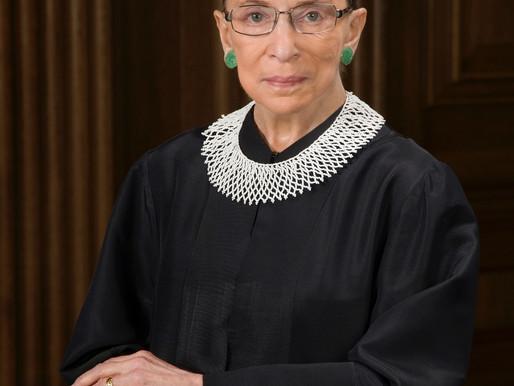 Ruth Bader Ginsburg Passes from Cancer at 87 Years Old