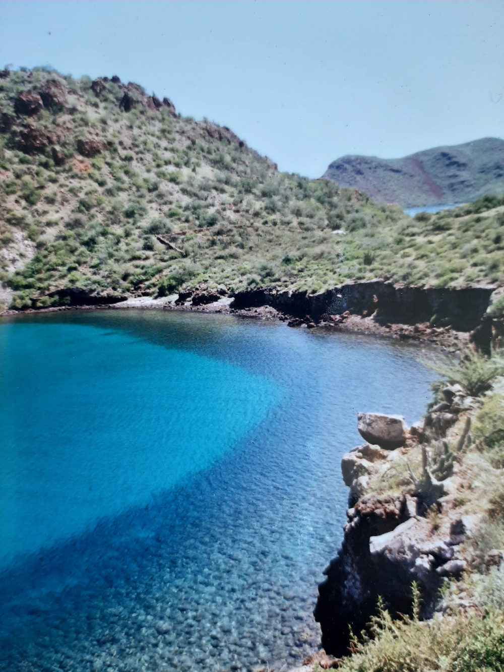 Puerto Escondido Baja California.