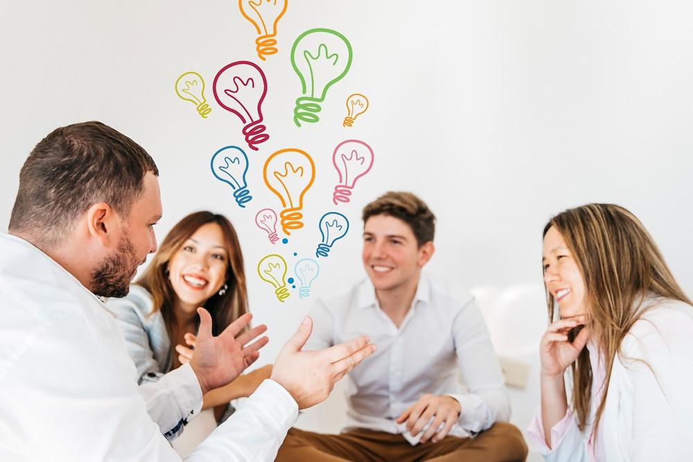berbicara tentang menyampaikan atau merealisasikan ide dengan baik