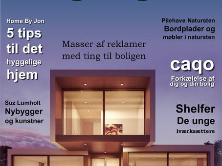 Første nummer af Dansk Boligmagasin