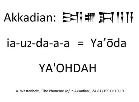 Isn't it pronounced Yahawadah?