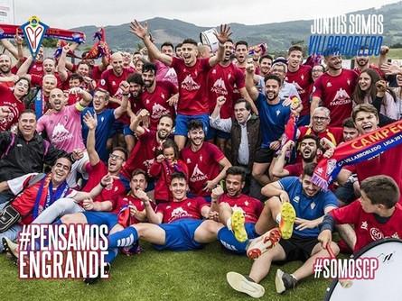 Mañana día 30 se cumple un año del ascenso del CP Villarrobledo a 2B