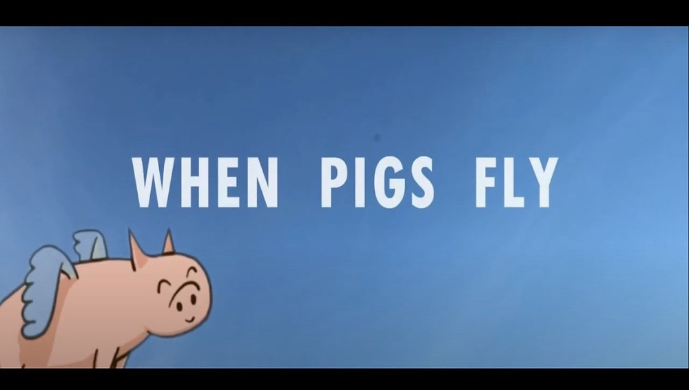Press-kit poster for When Pigs Fly, 2020