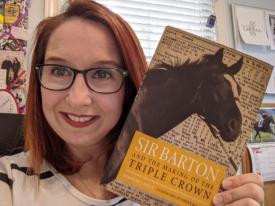 Jennifer Kelly, Sir Barton and the Making of the Triple Crown, Author, Horse Racing Books, Triple Crown Books