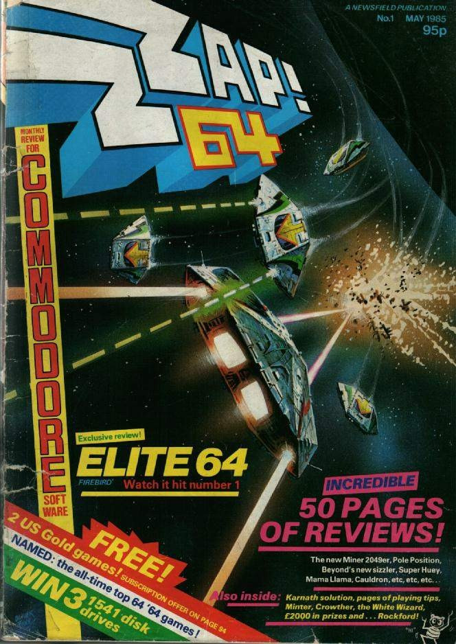 We saw earlier how Elite looked on the C64. Does this count as false advertising?