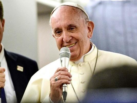 Papa a jornalistas a bordo: no Chile e Peru contagiado pela fé do povo