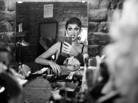 « Selfie » Edna au Cabaret Mademoiselle