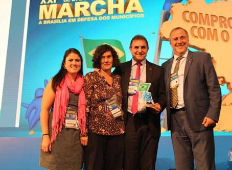Santa Clara do Sul conquista prêmio nacional