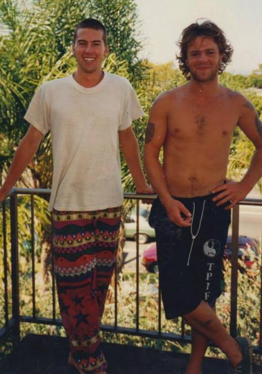 Leigh Evans and Nicholas Blewett