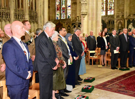 Rifles LI and KOYLI Regimental Memorial Service goes Virtual