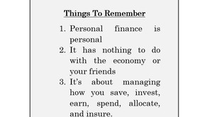What Is Personal Finance?