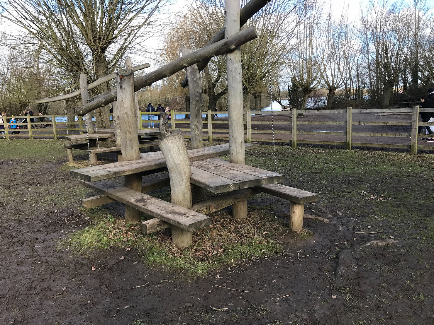 Play area at Dinton Pastures Play Area
