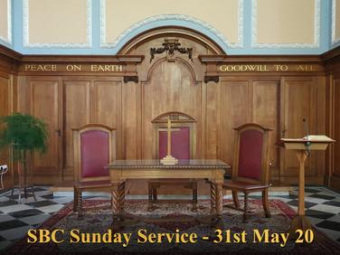 Sunday Service - 31 May 20