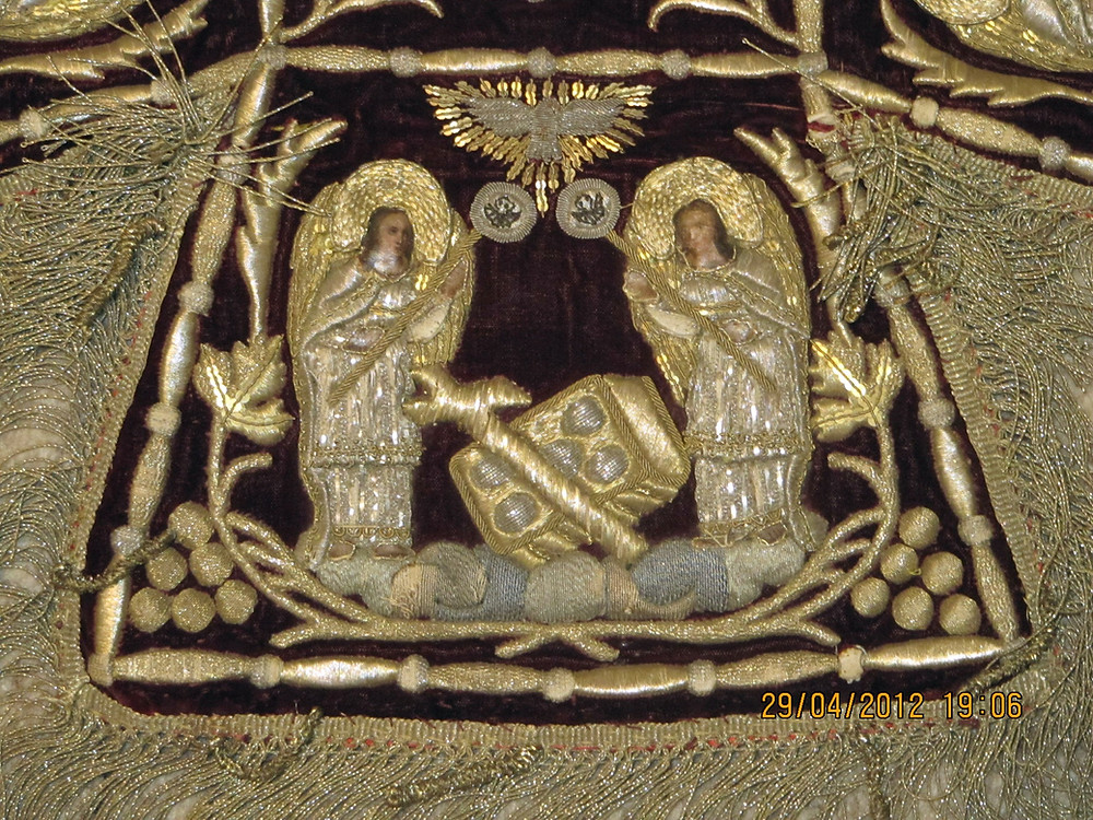 Церковная швейная мастерская Евфимия вышитая схима на заказ.