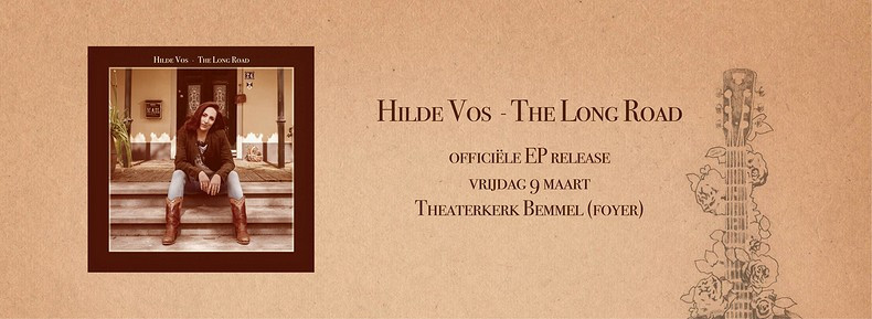 Hilde Vos presenteert nieuwe EP The Long Road