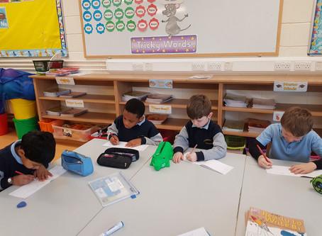Literacy Lift off in full swing in Ms.Nestor's Senior Infants.