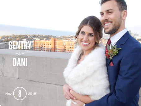 Gentry & Dani's Wedding at Faultless Event Space