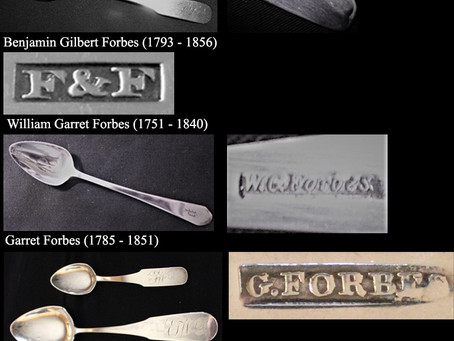 Silversmith Forbes of New York
