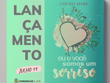 Novo livro de Leônidas Brado chegará as livrarias em julho