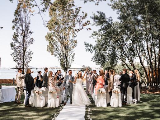 Heiraten in Venedig - Freie Trauung im Garten des San Clemente Palace Kempinski