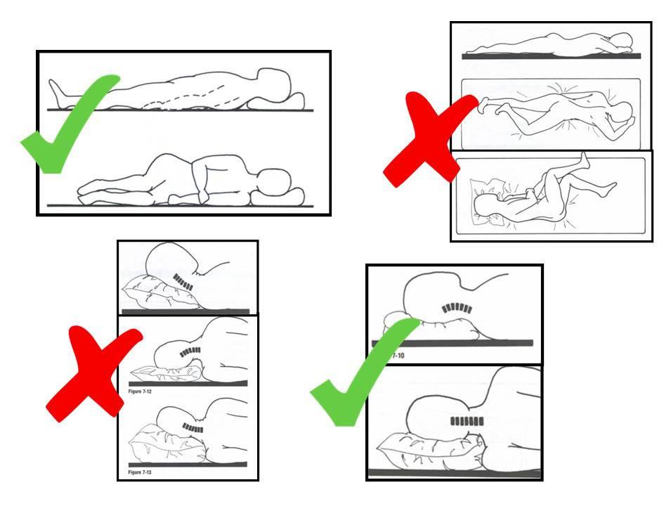 position à éviter pour dormir
