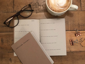 Create your own saddle stitch journal with 10 simple steps...