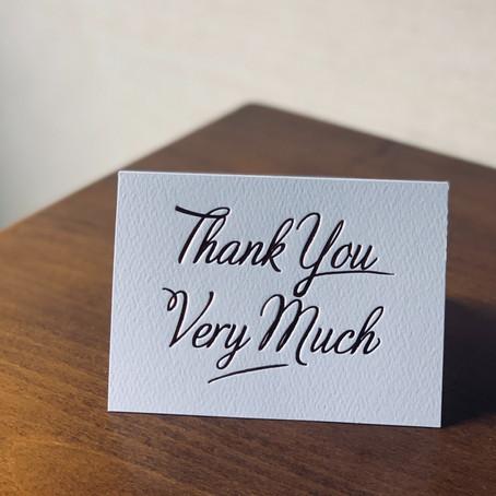 Dear Heidi: When do I send a Thank You?
