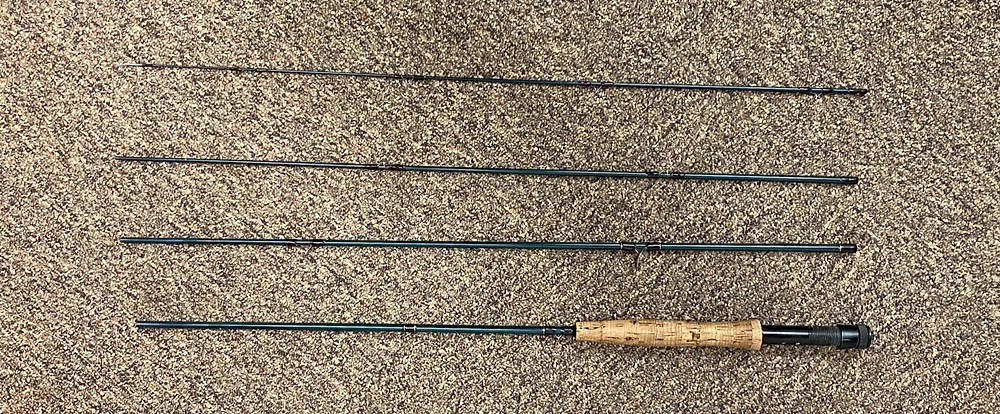 Echo Base Four Piece Graphite Rod