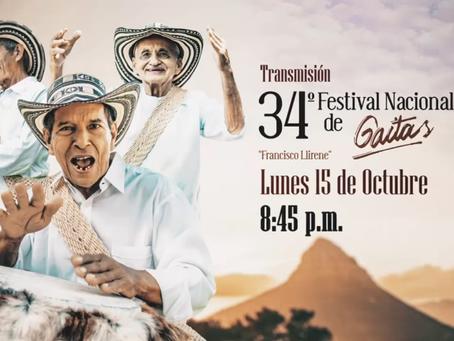 Comunicado 71: Acordeones y gaitas protagonistas del festivo en Telecaribe.