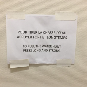 Even prestigious French institutions can fall prey to translation fails - part 1