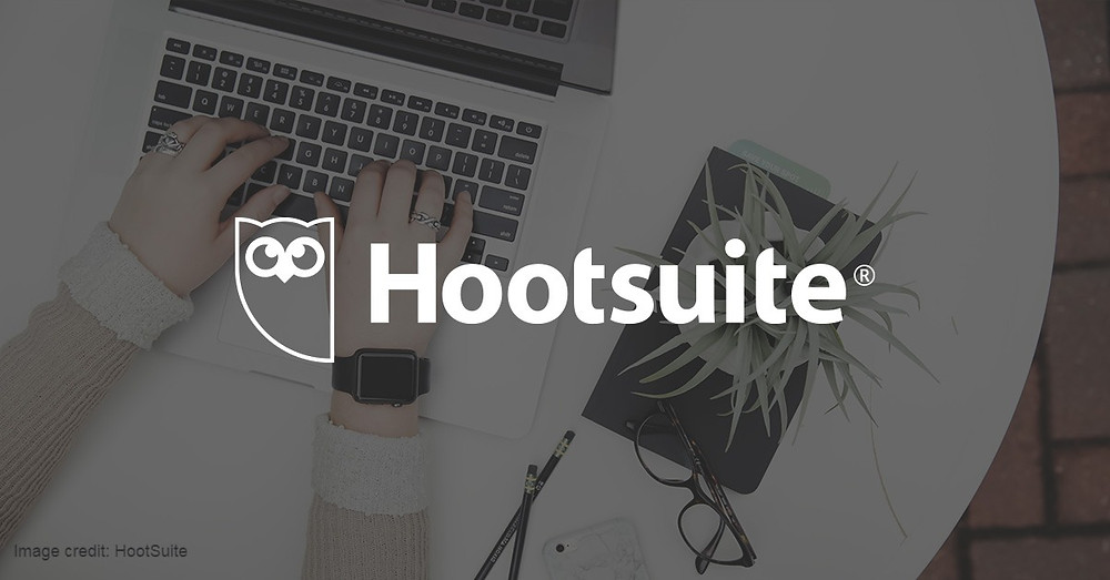 HootSuite logo and screenshot