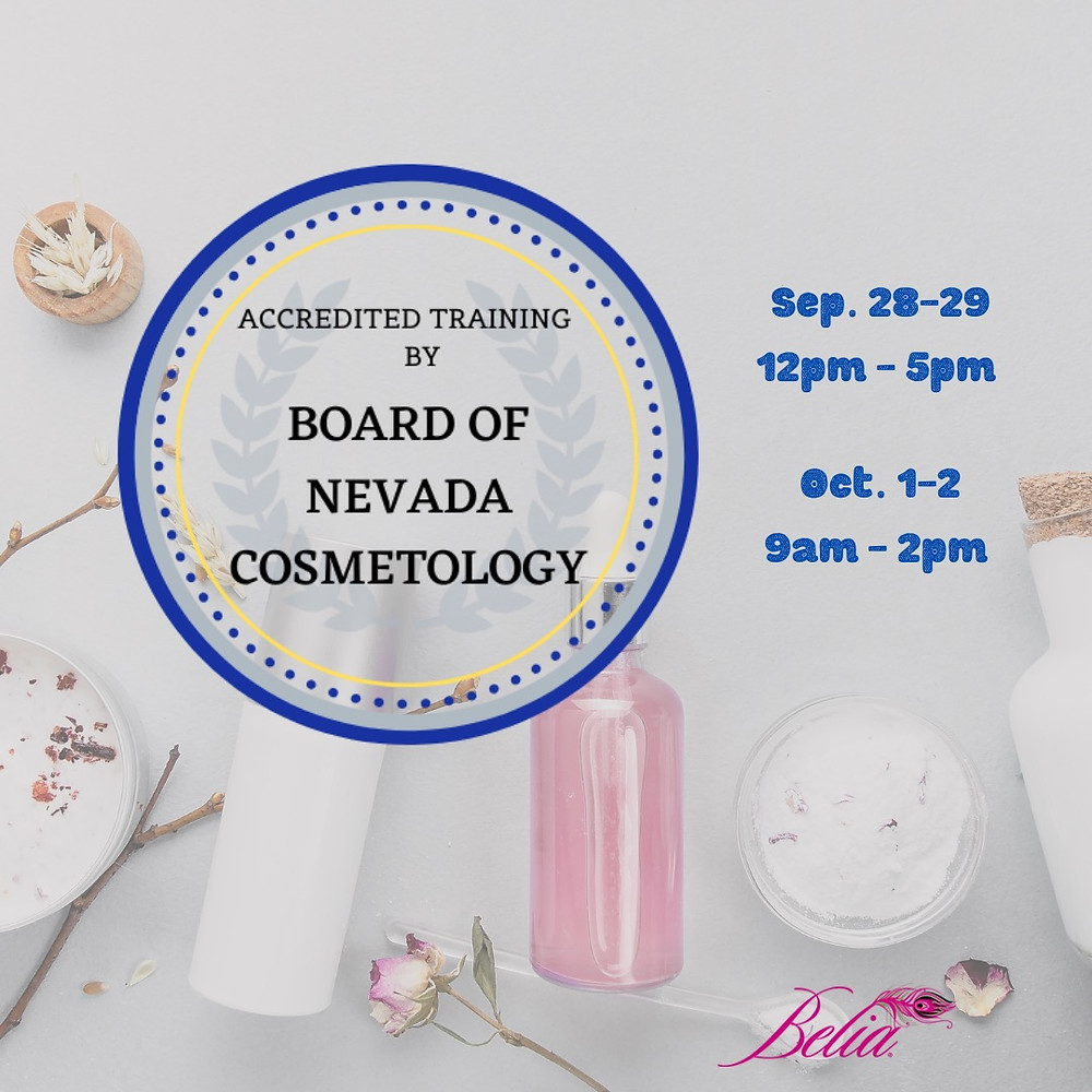 Accredited Hours by Board of Nevada Cosmetology