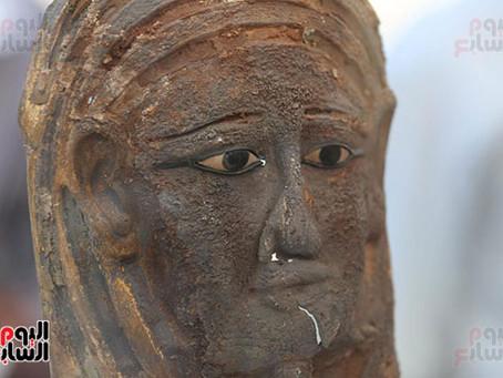 Тайник с мумиями найден в Саккаре