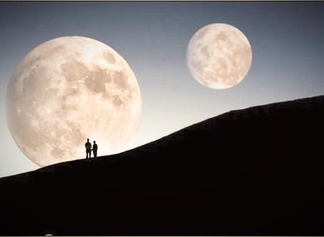 As Luas de Outubro....