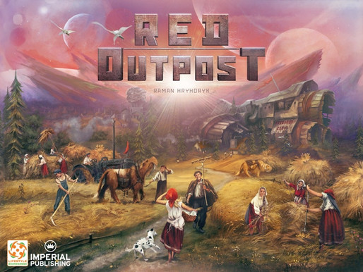 Red Outpost: The 2-4 Player Communist Utopia Board Game