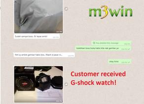 G-shock lucky draw!