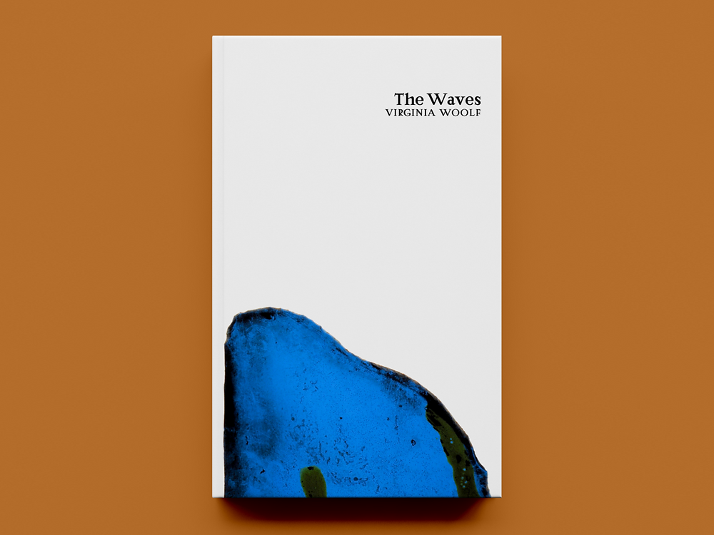 'The Waves' by Virginia Woolf – Cover Concept