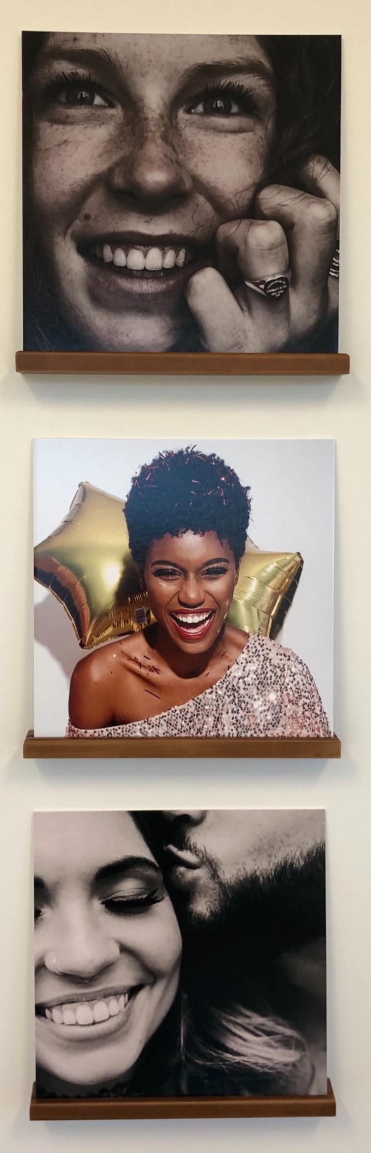 Genuine Orthodontics smile photo wall