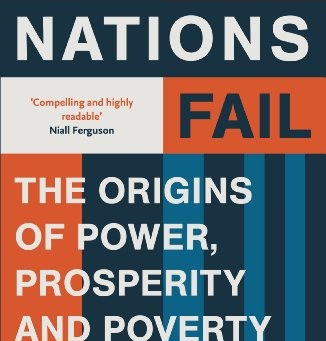 36.  Why Nations Fail by Daron Acemoglu and James A. Robinson