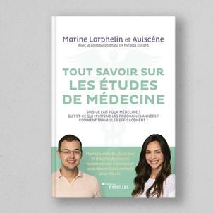 Tout savoir sur les études de médecine : un livre par Marine Lorphelin et Aviscene