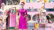 Laundry mannequins
