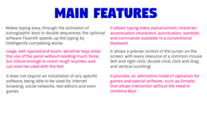 The main features of the Key-X