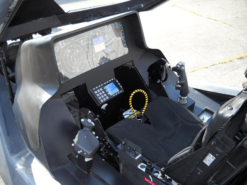 Cockpit. F35 Lightning II. HOTAS.