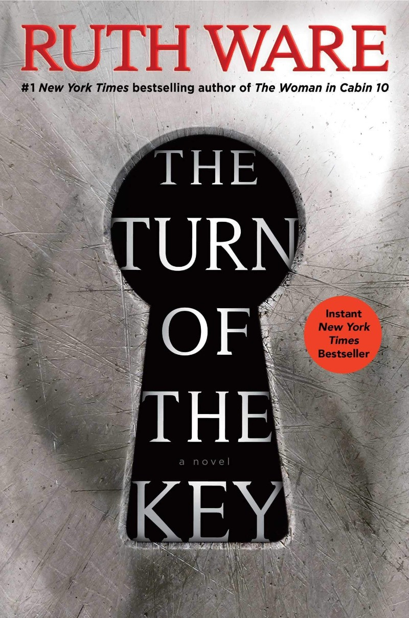 book cover of Ruth Ware's The Turn of the Key