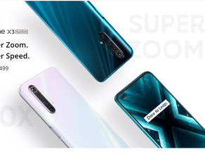 Realme X3 with superzoom