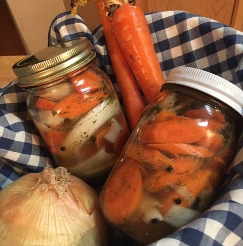 Veggie Pickles in a Hurry