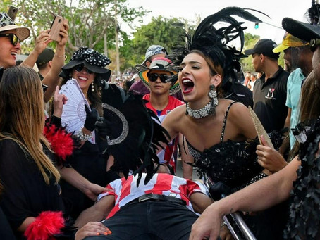 La Reina del Carnaval, Carolina Segebre se despidió de Joselito Carnaval, su  'cambambero mayor'