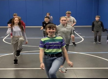 Dancing at AVS Middle School