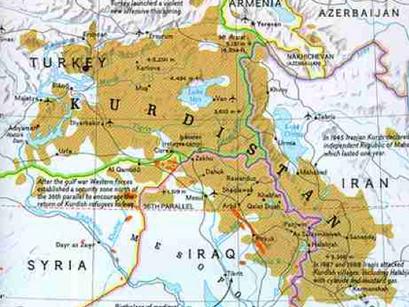 El Caso Kurdistan ¿La Creación de un Nuevo Estado en Medio Oriente?