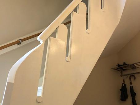 Art Deco trap in ere hersteld